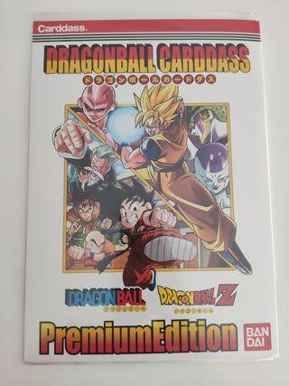 plancha cards carddass dragon ball premium edition