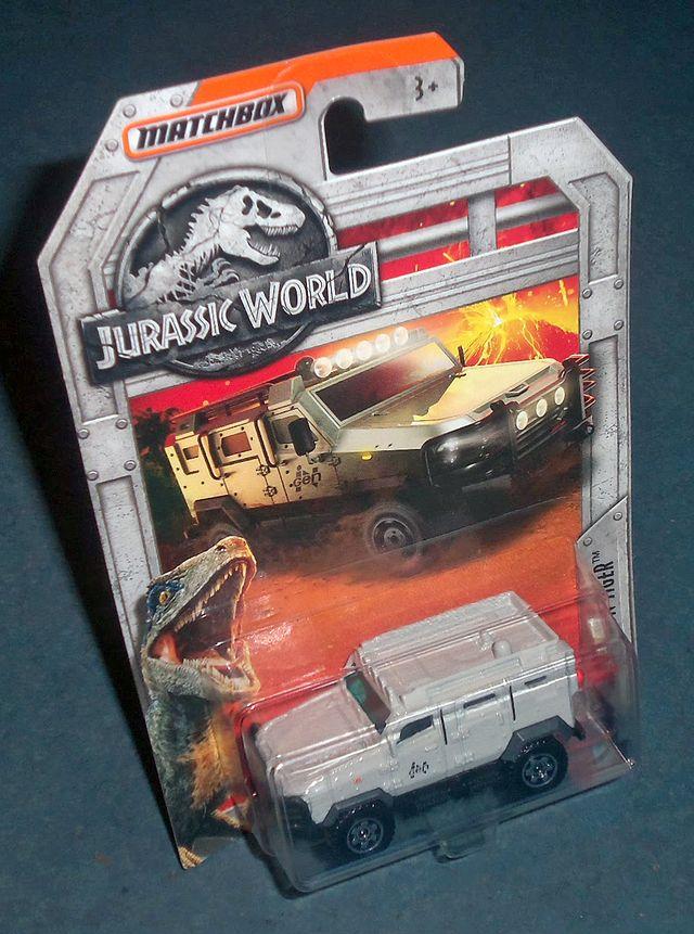 Blindado TEXTRON TIGER Jurassic World MATCHBOX