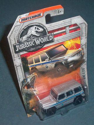 MERCEDES BENZ G550 Jurassic World - MATCHBOX 1/64