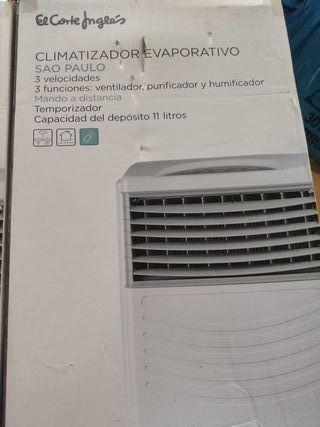 Climatizador, humidificador y ventilador
