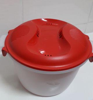 Micro-Wok de 2.2 L. Arroz microondas. SIN USAR.