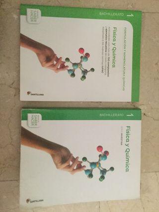 Libro física y química Santillana 1ºbachillerato