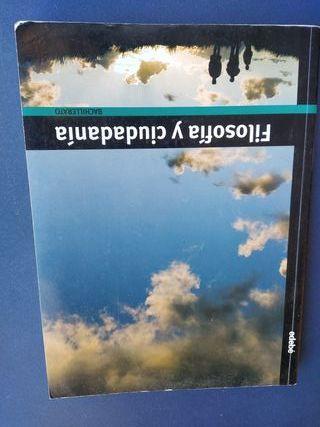 """Libro de texto """"Filosofía y Ciudadanía"""" Bachiller"""