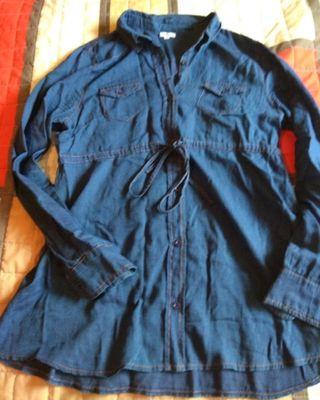 camisa tejana embarazada talla 38