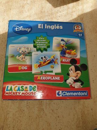 Puzzle la casa de Mickey Mouse en ingles