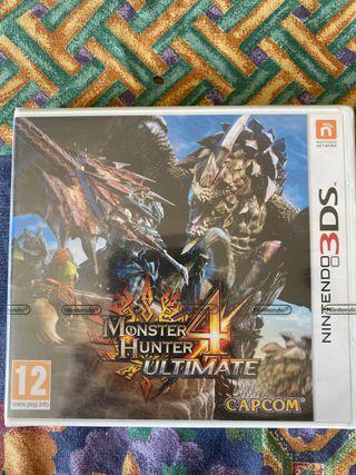 Monster Hunter World 3DS (Sin desprecintar)
