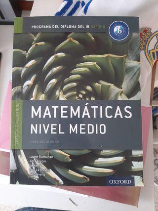 Matemáticas nivel medio Bachillerato Internacional