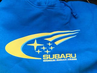 Sudadera Subaru world rally car