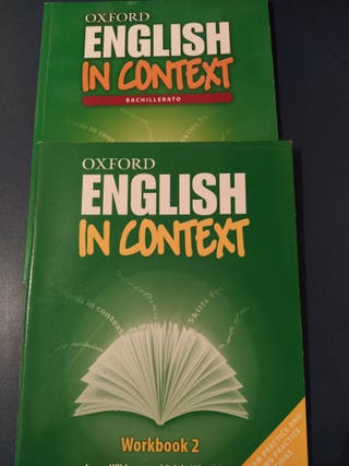 Libro texto inglés. 2° bachillerato.