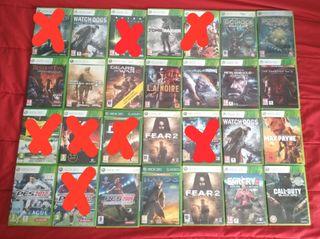 Lote juegos Xbox 360