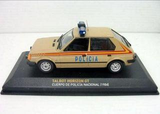 Talbot Horizon gt coche escala 1:43 Policía NUEVO