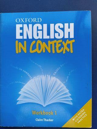 Libro texto Inglés. 1° bachillerato