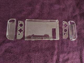 Carcasa transparente Nintendo Switch