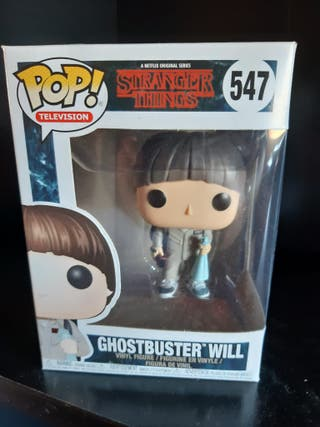 Funko Pop Stranger Things - Ghostbusters Will