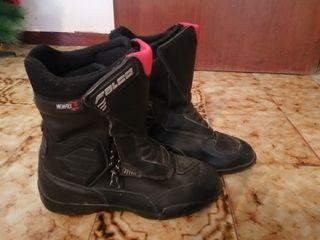 botas moto mujer