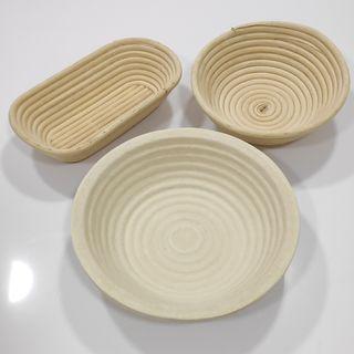 Banetones (moldes) para fermentar pan