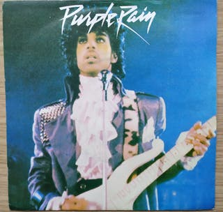 Disco de Vinilo Single PROMO Pince Purple Rain