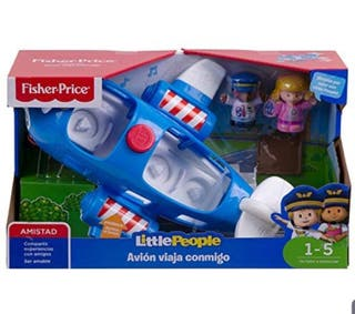 Little People Avión Viaja Conmigo fisher price