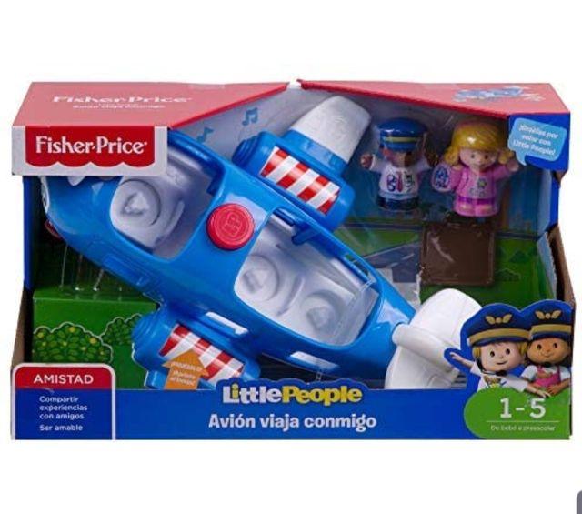 Little People Avión Viaja Conmigo fisher price