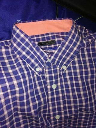 Camisa Rushmore talla 4 de cuadros
