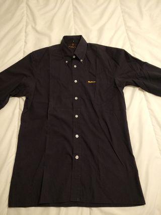 Camisa manga larga azul oscu Ben Sherman Talla 38