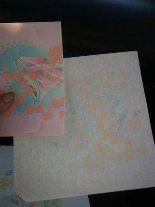 conjuntos de cartas perfumadas