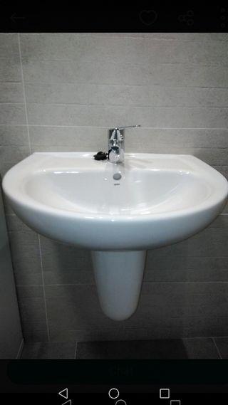 lavabo gala semi pedestall