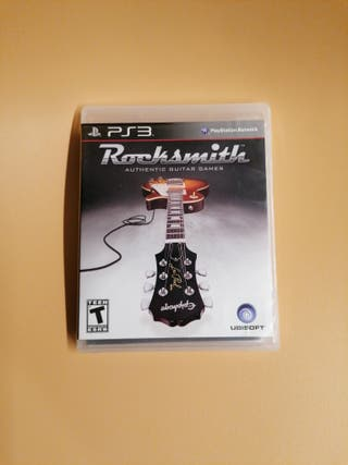 Rocksmith + cable PS3