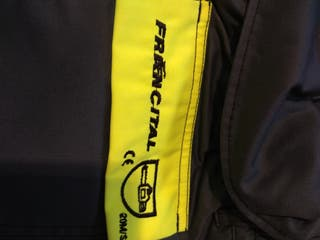 Pantalon FRANCITAL de protección para sierra