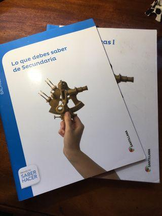 Libro Matemáticas 1º Bachillerato Santillana