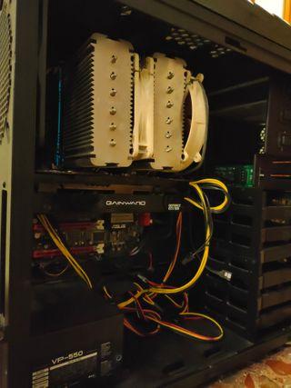 ordenador pc gaming/diseño roto