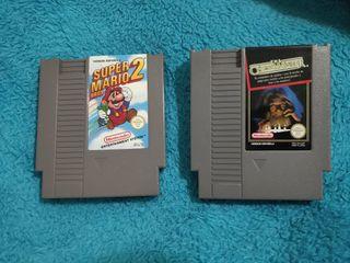 2 Juegos NES sin caja