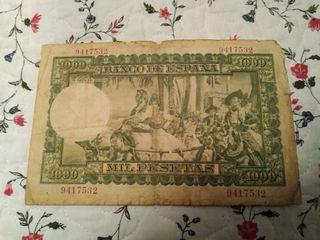 Billete de 1000 pesetas de 1951