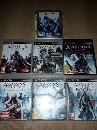 Saga Assassins Creed Play 3