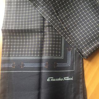 Foulard de seda Emidio Tucci. Vintage