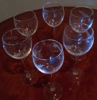 Cristaleria de champan