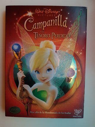 Campanilla Disney DVD película