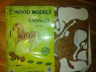 maqueta madera para construir