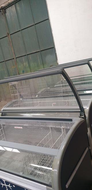 DEJA WASAP congelador industrial isla para tienda
