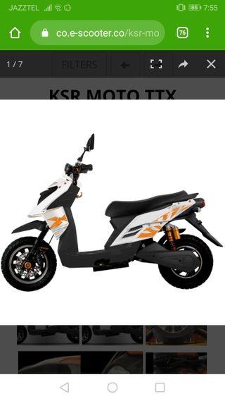 moto electrica ttx ksr