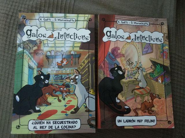 Libros gatos detectives 1 y 2
