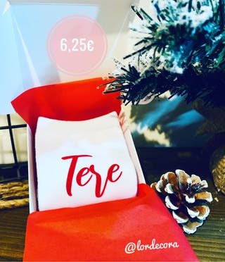 Calcetines personalizados navidad