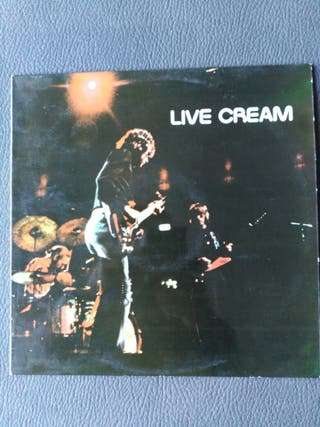 LIVE CREAM DISCO LP VINILO