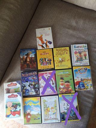 DVD's infantiles