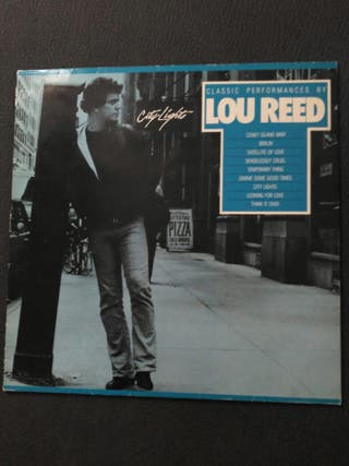 LOU REED DISCO LP VINILO
