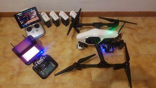 Dron con cámara térmica