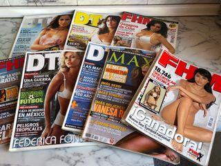 Lote de revistas MAN, DT, FHM...