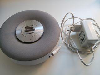 Altavoz base Philips DS1100/12 para iPhone y iPod