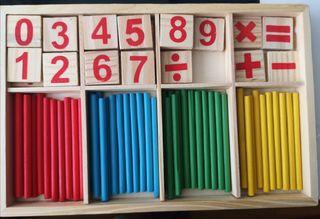 juego calculo montessori