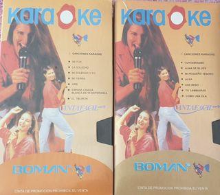 CINTAS VHS KARAOKE